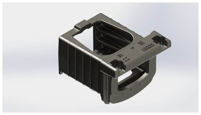 Упор передний УП1К-1 ГОСТ Р 52916 – 2008