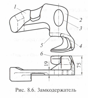 Замкодержатель СА-3