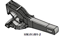 Корпус автосцепки 106.01.001-2